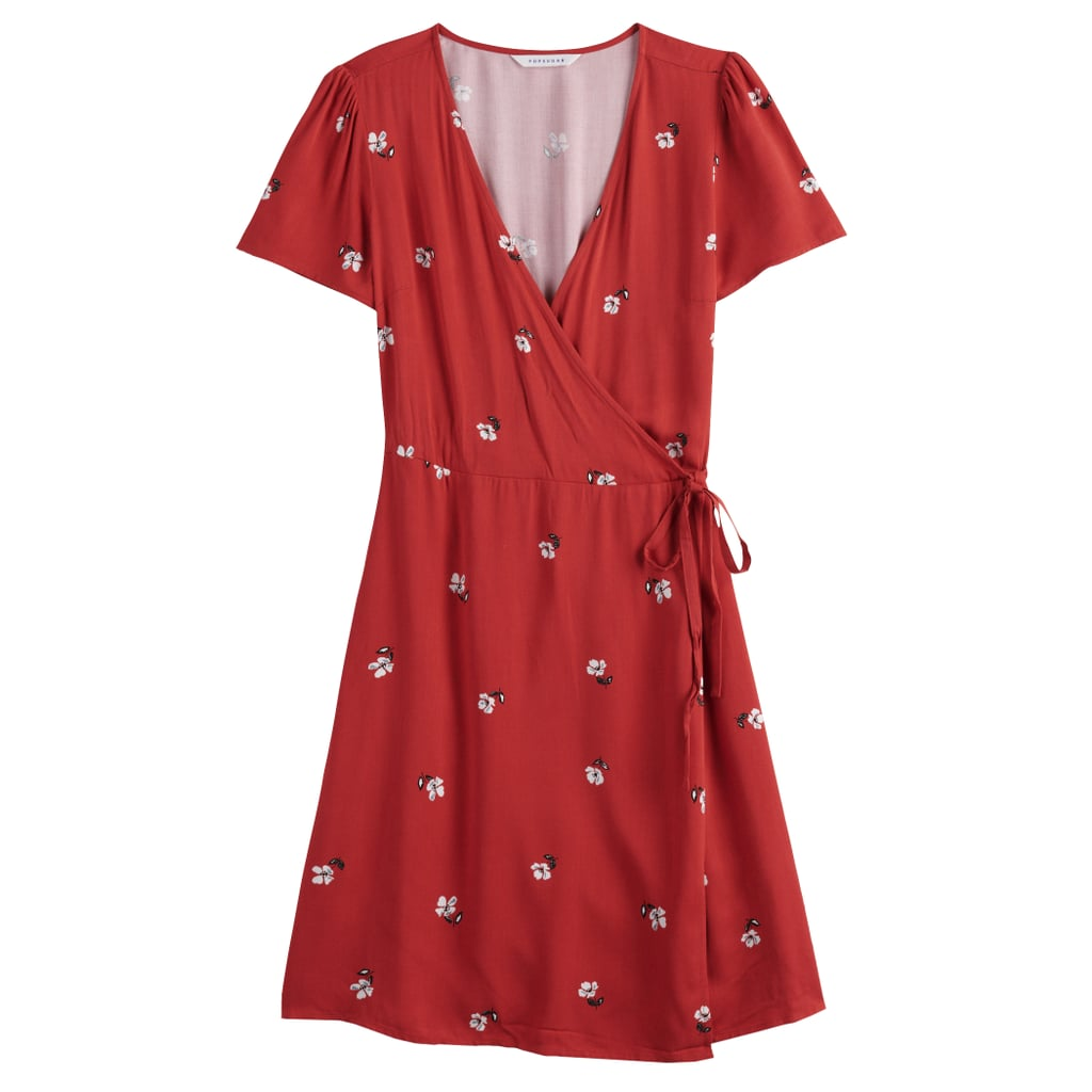 POPSUGAR Collection at Kohl\'s Plus-Size Printed Wrap Dress ...