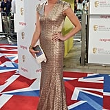 Jenni Falconer was gorgeous in Dannii Minogue's label, Project D.