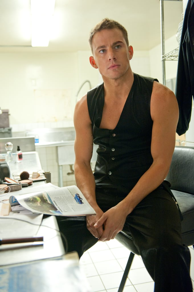 Channing Tatum got sexy in Magic Mike.