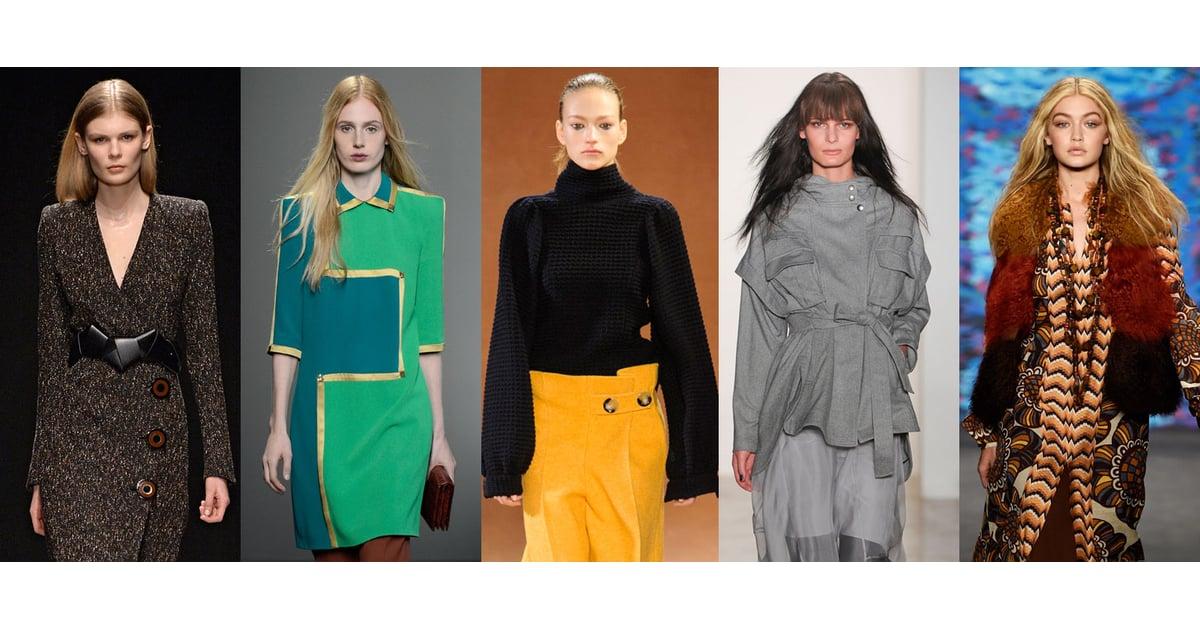 Fall Fashion Trends 2015 | Runway