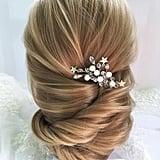 Star Bridal Crystal Celestial Hairpiece