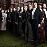 Downton Abbey 12 nominations total, including:  Outstanding drama series Outstanding lead actor in a drama series, Hugh Bonneville Outstanding lead actress in a drama series, Michelle Dockery Outstanding supporting actor in a drama series, Jim Carter Outstanding supporting actress in a drama series, Maggie Smith Outstanding writing for a drama series Outstanding directing for a drama series Outstanding costumes for a series  Source: BBC America