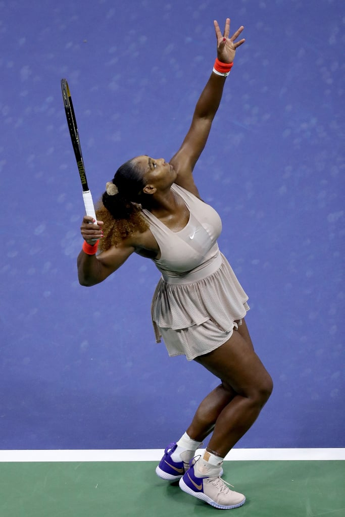We Can Feel How Lightweight and Comfy Serena Williams's Dress Was From This Photo