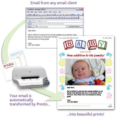 Presto Makes It Easy To Send Emails To Grandparents