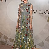 Romantic Valentino has never looked as perfect as it did on Alexa at the Bvlgari And Rome: Eternal Inspiration Opening Night event in New York in October 2015.