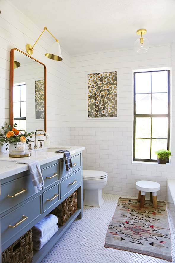 Fixer Upper Star Joanna Gaines May Have Started The Shiplap Wall Craze But Its Design Bloggers Who Are Making It Affordable Like Jenny Of Little Green