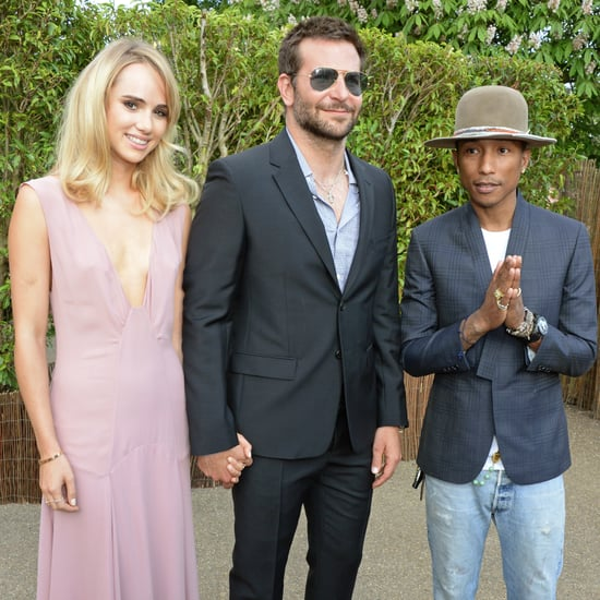 Bradley Cooper Shows PDA With Suki and Socialises With Pharrell