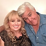 Pitch Perfect's Rebel Wilson hung out with Jay Leno. Best friend alert? Source: Twitter user RebelWilson