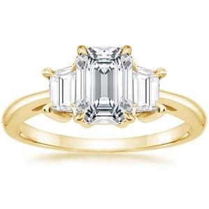 Brilliant Earth 18K Yellow Gold Embrace Diamond Ring