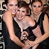 Allison Williams, Lena Dunham, and Zosia Mamet