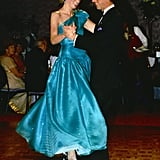 """May I Have This Dance?"" Teal Dress Diana"