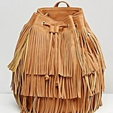 Monki Fringed Back Pack
