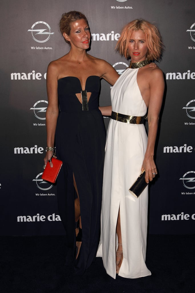 Sarah-Jane Clarke and Heidi Middleton at the 2013 Prix de Marie Claire Awards