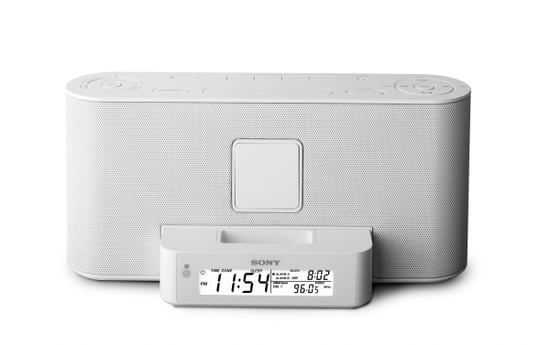 Coming Soon: Sony iPod-Ready Boombox and Clock Radio