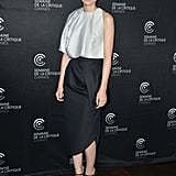 At the Ain't Them Bodies Saints photo call at Cannes, Rooney Mara was impeccably chic in a two-toned Dior ensemble.