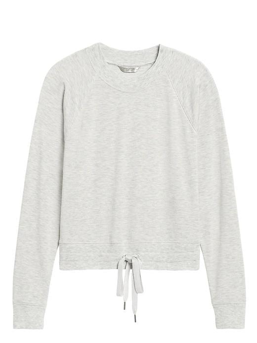 Fleece Cropped Sweatshirt