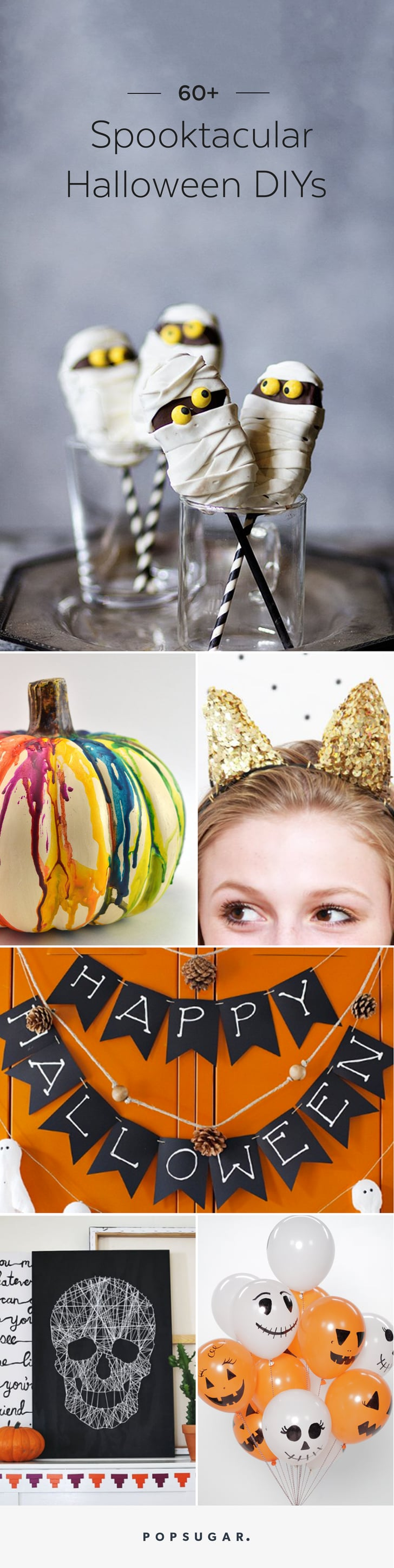 60+ of the Most Spooktacular Halloween DIYs