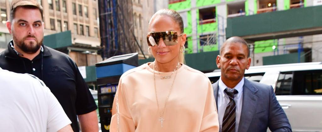 Jennifer Lopez's Sally LaPointe Sweatpants