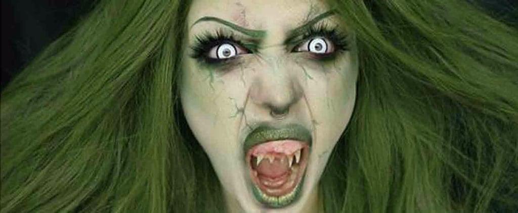Scary Starbucks Mermaid Halloween Costume
