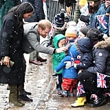 Meghan Markle and Prince Harry's Reaction to Boy's F-Bomb