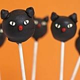 Black Cat Cake Pops