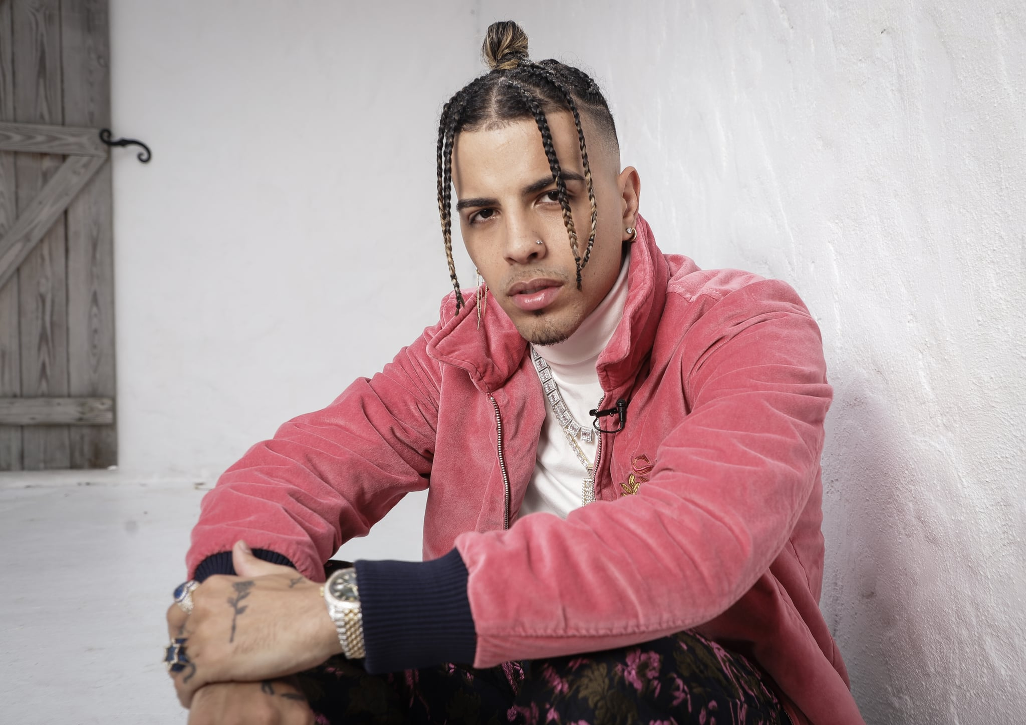 MIAMI, FLORIDA - NOVEMBER 06: Rauw Alejandro poses for a portrait during his New Single Release