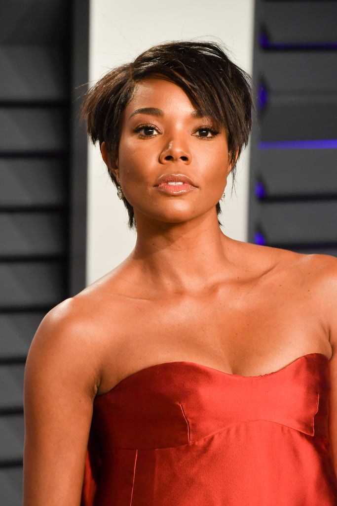 Gabrielle Union's Bob Haircut at the 2019 Oscars Afterparty