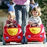 Britney's Boys Are Moving Right Along