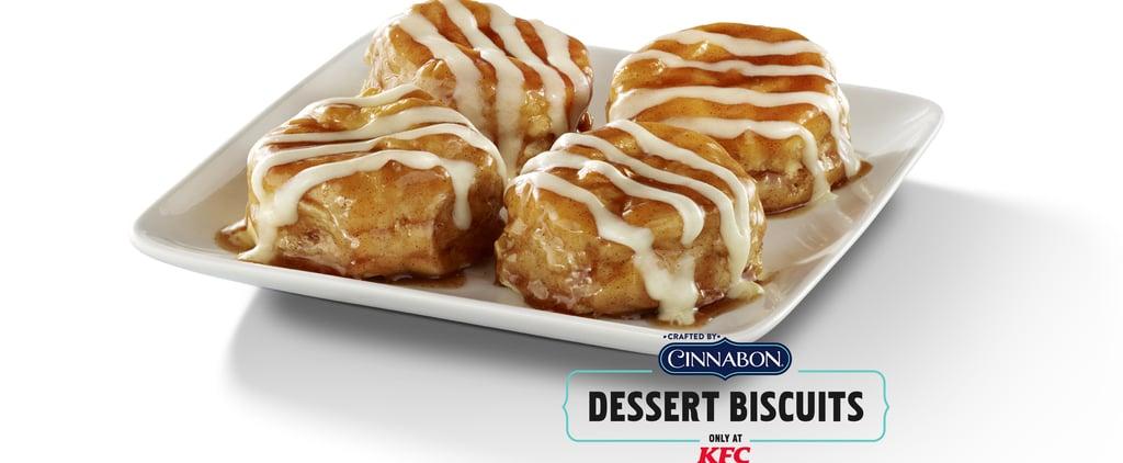 KFC Cinnabon Dessert Biscuits