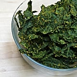 """Once you pick up nutiritional yeast at your local health food store, it's time to get creative in the kitchen. Check out some our favorite ways to sprinkle it on.  Curried kale chips: After falling hard for the Bombay Curry flavor of Rhythm Superfoods kale chips, we couldn't wait to create a homemade version. These curry kale chips make use of nutritional yeast and are also high in fiber and iron. Mac and """"cheese"""": Vegan eaters who have missed the comfort of classic mac will find a new favorite in this mac and """"cheese"""". In this tasty recipe, nutritional yeast, Smart Balance spread, and veggie broth come together for a creamy, decadent-tasting sauce. Dressed-up popcorn: The low-calorie and low-fat snacking staple is essential for any Oscars spread — as long as you skip the butter. Shake on nutritional yeast generously on top for a fresh take on the favorite.  Photo: Michele Foley"""