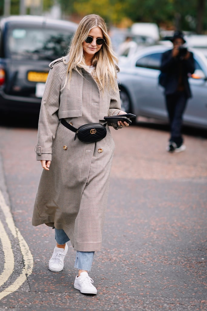 Wear One Over Your Favorite Trench Coat and Style It With Sneakers