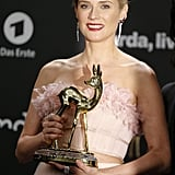 Diane Kruger With Her Bambi Award