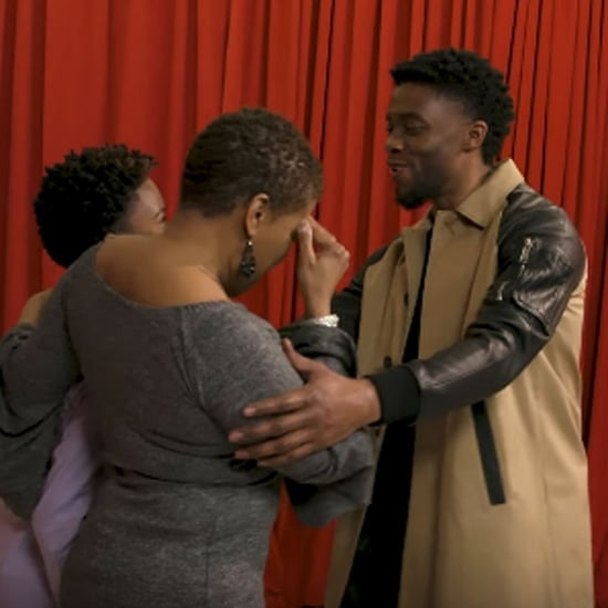 Chadwick Boseman Surprising Black Panther Fans Video