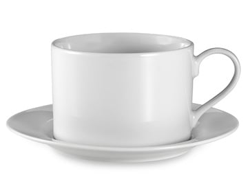 Bed Bath & Beyond Tea Cup and Saucer