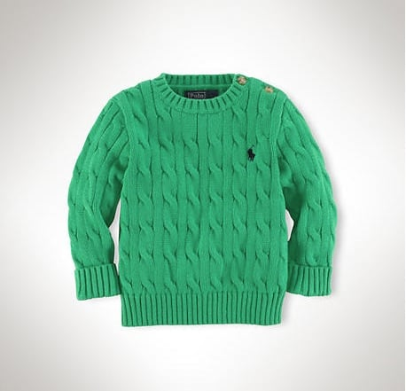 Ralph Lauren Cable Sweater