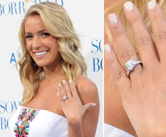 kristin cavallari celebrity engagement ring pictures