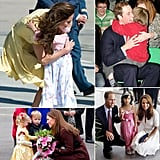 Kate and Will have had plenty of sweet moments with kids through the years. With duties that involve charity efforts and working with children, the parents-to-be have shown again and again just how great they are at interacting with little ones.