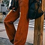 Levi's Ribcage Corduroy Wide-Leg Pant