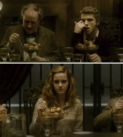 cormac and hermione love at hogwarts most romantic
