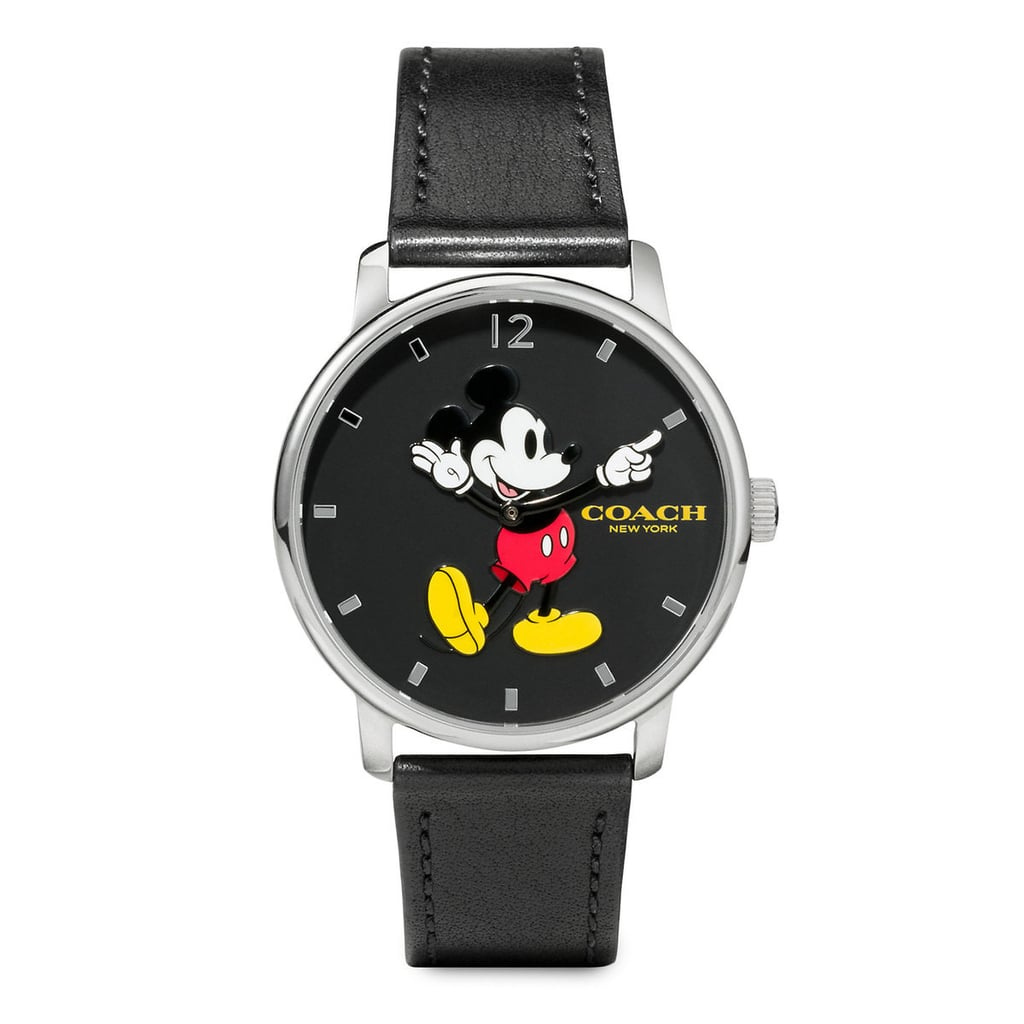 Mickey Mouse Grand Leather Watch by Coach ($180)
