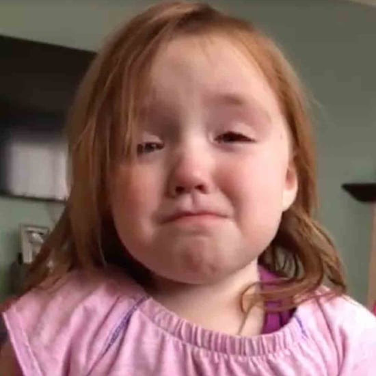 Little Girl Crying Over Waffles Video