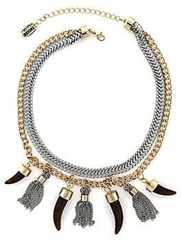 Nicole Miller Tassel Necklace