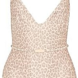 Zimmermann Belted Leopard-Print Swimsuit