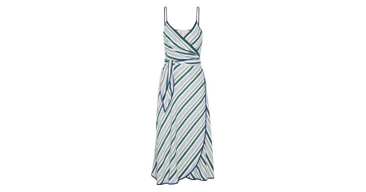 Striped Wrap Dress Vacation Prints For Spring Popsugar