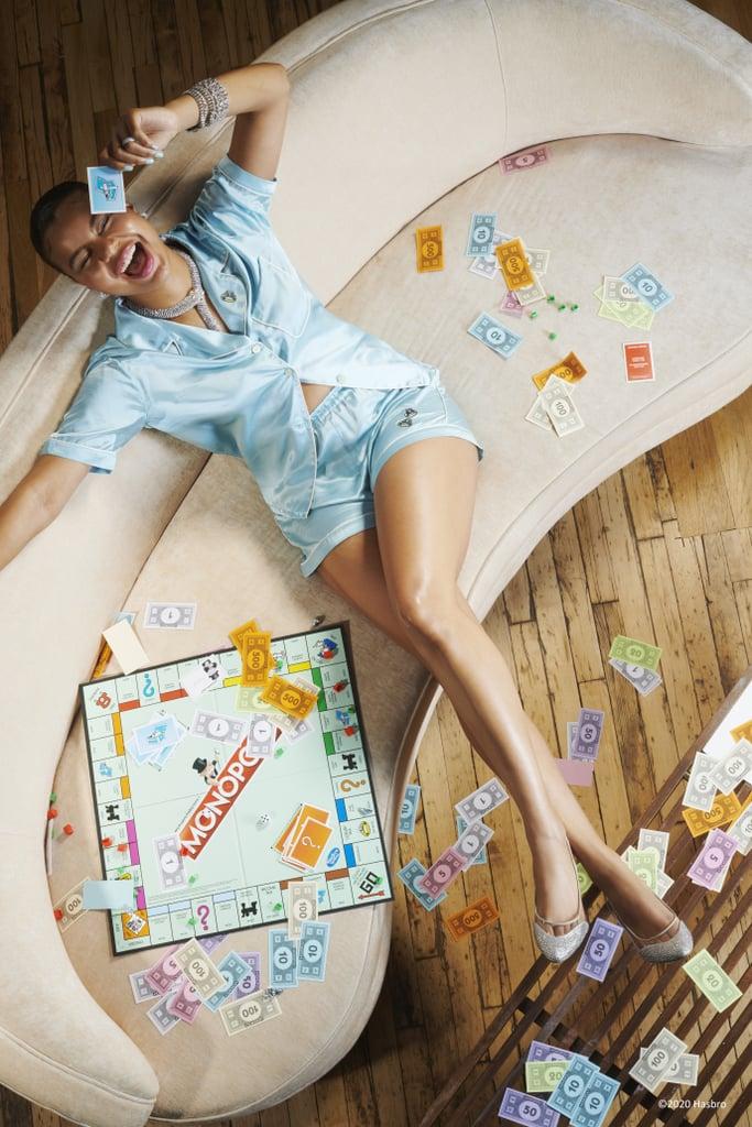 Morgan Lane Created a Stylish Monopoly Pajama Collection