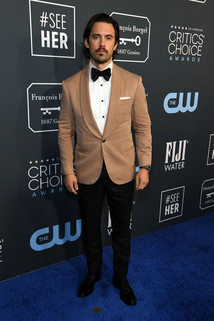 Milo Ventimiglia at the 2020 Critics' Choice Awards