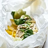 Ginger-Mango Chicken Breasts en Papillote