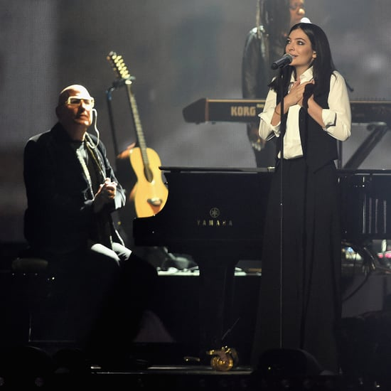 Video Lorde David Bowie Tribut bei den BRIT Awards 2016