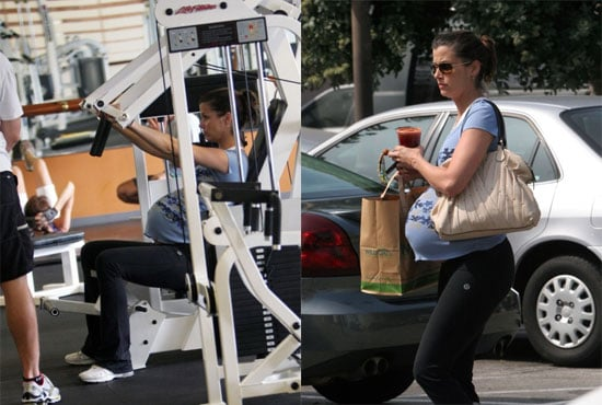 Bridget Moynahan Gets Fit While Pregnant