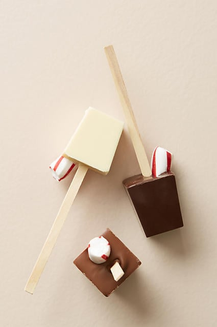 Anthropologie Hot Chocolate on a Stick Set
